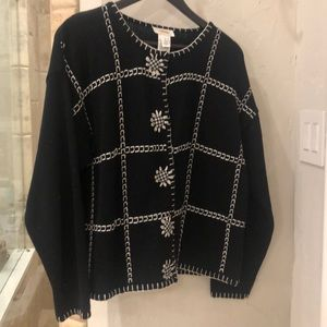 Talbots Sweater Size Large Like New